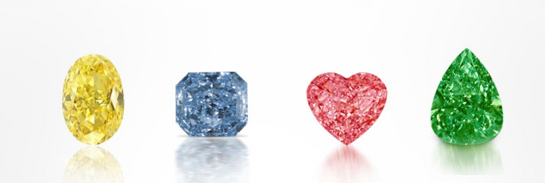 fancy extremely common red most colored color while rare yellow is grading diamond blue diamonds and green among all are pink