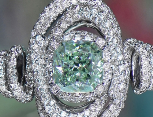 INVESTORS FROM ASIA CAN'T GET ENOUGH OF COLORED DIAMONDS